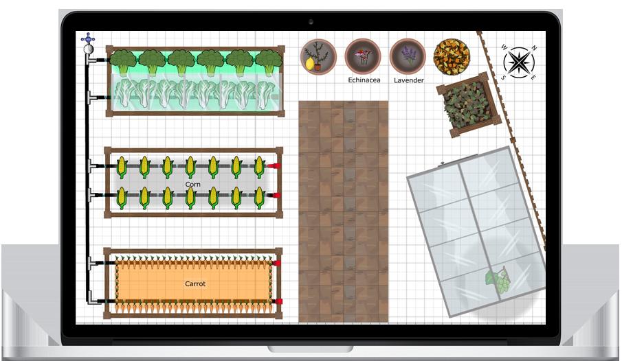 vegetable garden design apps